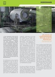 Praxisbericht Schade - TNC 640 - HEIDENHAIN