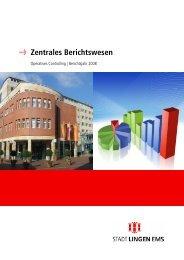 Controllingbericht 2008 - Stadt Lingen