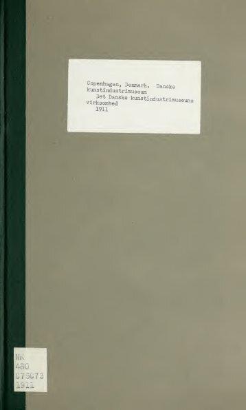 Det Danske kunstindustrimuseums virksomhed