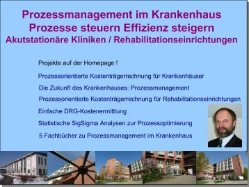 Vortrag zum Prozessmanagement
