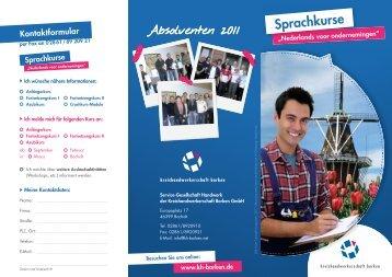 Sprachkurse - Kreishandwerkerschaft Borken