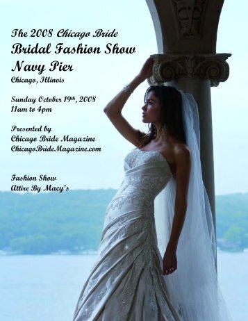 Bridal Fashion Show Navy Pier - Chicago Bride Magazine