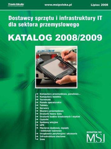 Dostawcy sprzętu i infrastruktury IT dla sektora ... - MSI Polska