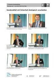 Impressionen 2010 - Ecoserve International AG