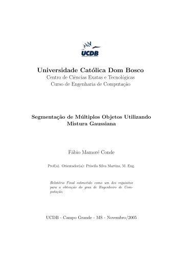 Grupo de Pesquisa em Engenharia e Computação - Universidade ...