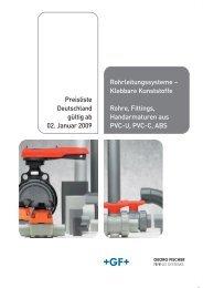 1NGQKDHSTMFRRXRSDLD ´ Klebbare Kunststoffe Rohre, Fittings ...