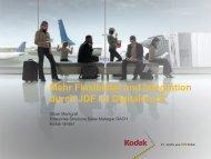 Mehr Flexibilität und Integration durch JDF im Digitaldruck - CIP4