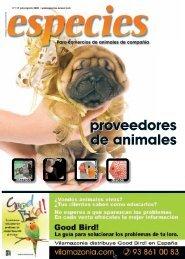 proveedores de animales proveedores de animales - especies