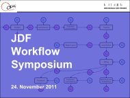 JDF Workflow Symposium - CIP4