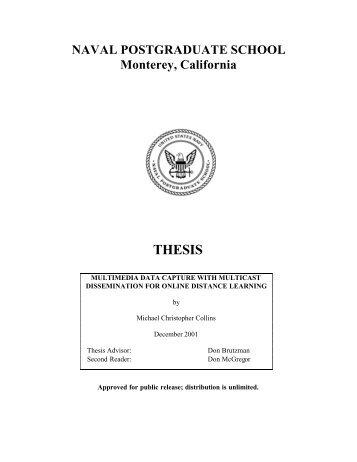 naval postgraduate thesis