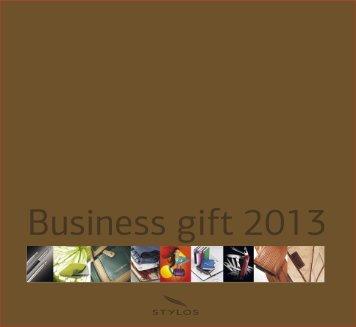 Biznis Gift katalog 2013 - Stylos