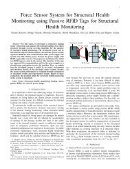 Force Sensor System for Structural Health Monitoring using Passive ...