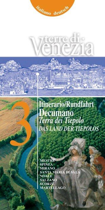 Decumano - Assessorato al Turismo della Provincia di Venezia