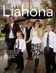 Mai 2012 Liahona - The Church of Jesus Christ of Latter-day Saints