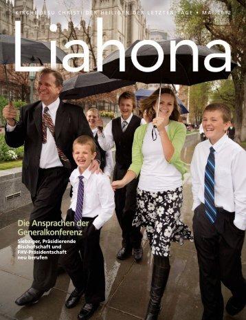 Mai 2012 Liahona - The Church of Jesus Christ of Latter-day Saints