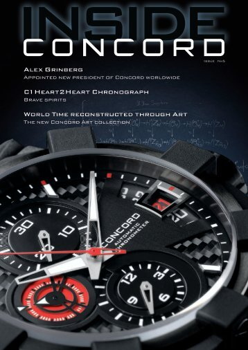 Alex Grinberg C1 Heart2heart Chronograph World Time - Concord