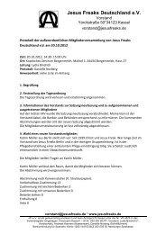 MV_20.10.2012 Protokoll - Jesus Freaks Deutschland
