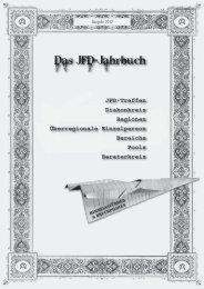 Das JFD-Jahrbuch - Jesus Freaks Deutschland