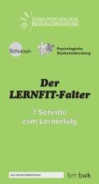 Der LERNFIT-Falter - Bundesministerium für Unterricht, Kunst und ...