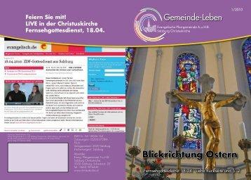 """Familiengottesdienst / """"Famgodi"""" - Christuskirche"""