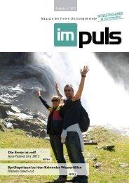 ImPuls - 06 / 2012 - Freie Christengemeinde