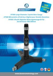 NEW NOUVEAU NEU - Bowers Metrology