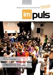 Ausgabe 3 / 2012 LET'S GO! - Freie Christengemeinde