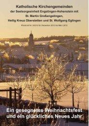 Die Dezemberausgabe hier als PDF - Katholische Kirchengemeinde ...