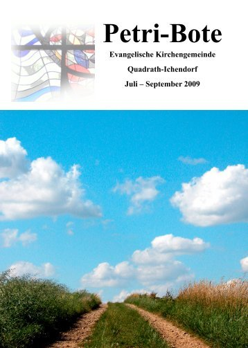 Ausgabe 3/2009 - evangelisch-in-qi.de