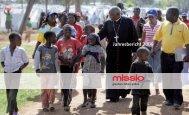 Jahresbericht 2008 - Missio