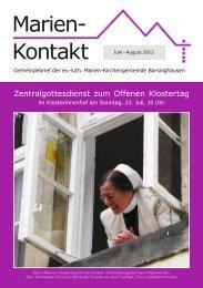 Sommer 2012 - Kirchenkreis Ronnenberg