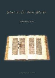 Jesus ist für dich geboren - Verlag Traugott Bautz GmbH