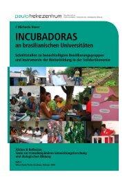 INCUBADORAS - Paulo Freire Zentrum
