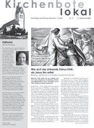 Editorial Wie sich der sinkende Petrus fühlt, als Jesus ihn rettet - ref ...