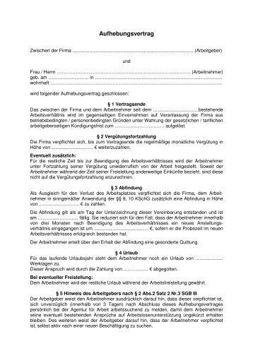 muster aufhebungsvertrag muster fr einen aufhebungsvertrag handwerkskammer hamburg muster aufhebungsvertrag muster als word dokument download als pdf - Aufhebungsvertrag Auf Wunsch Des Arbeitnehmers Muster