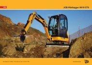 JCB Minibagger 8018 CTS - Baumaschinen