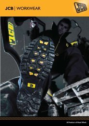 JCB Workwear Catalogue - Collings Brothers of Abbotsley