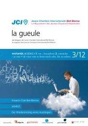 la gueule 3/12 - Junior Chamber Biel-Bienne
