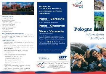 Pologne - informations pratiques (PDF)