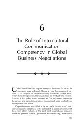 The Role of Intercultural Communication ... - Sage Publications