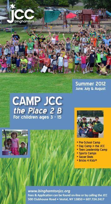 CMYK camp brochure 2.indd - the binghamton jcc