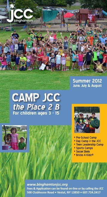 CMYK camp brochure 2.indd - the binghamton jcc