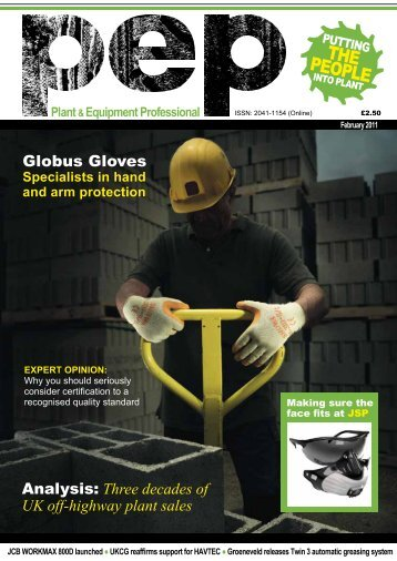 Globus Gloves - OPERC - Off-highway Plant and Equipment ...