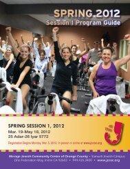 SPRING 2012 - Merage Jewish Community Center