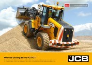 Wheeled Loading Shovel 427/437