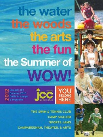 Download Summer brochure - Mandell JCC