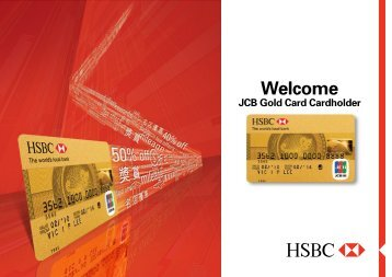 HSBC JCB Gold Card