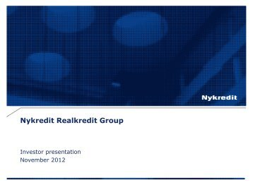 Issuer Presentation - Nykredit