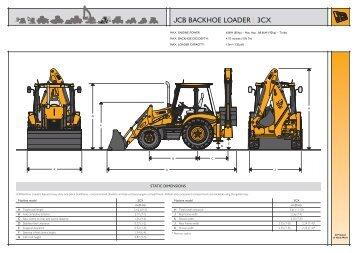 Jcb backhoe loader 3cx - Henson Plant Hire