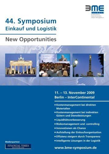 44. Symposium - Landesinitiative Logistik NRW